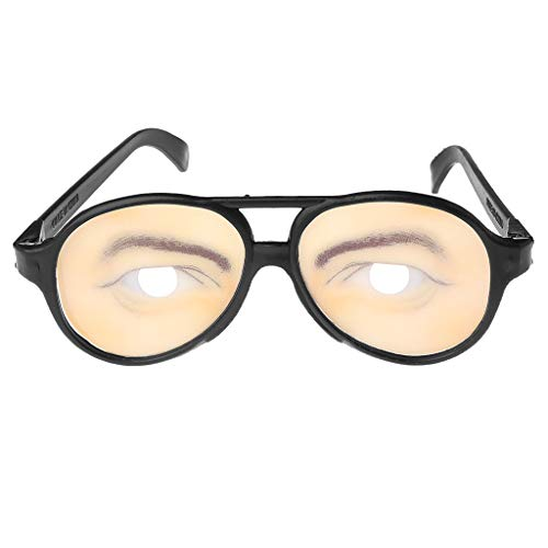 Richi Crazy Eyes Glasses Funny Specs Shape Changing Shades Halloween Party Joke Gifts (Man) ()