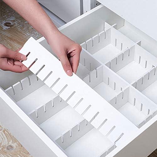 [スポンサー プロダクト]AooYo 仕切り板 32*7cm 引き出し収納用 8枚セット 厚い5mm 引き出し仕切りいた 自由組合 小物 化粧品 下着 ネクタイ 薬品を収納 収納用仕切り板 切断可能