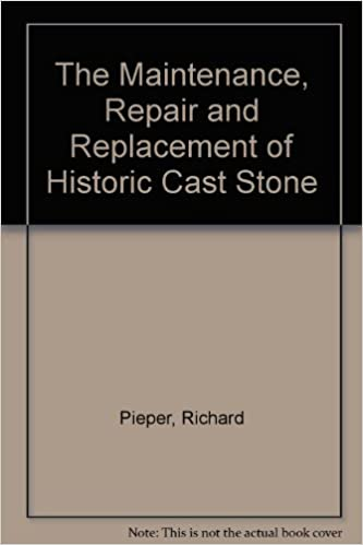 The Maintenance, Repair and Replacement of Historic Cast