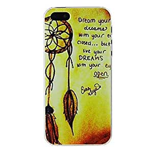 Rope with Saying Embossment Back Case for iPhone 5/5S