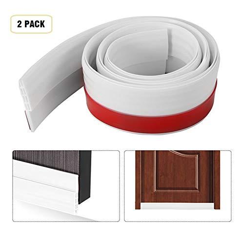 Under Door Draft Stopper Door Sweep Door Draft Blocker Door Seal Insulation Door Threshold Cover Weatherstripping,Energy Saver for Weatherproofing Door Bottom Seal-2