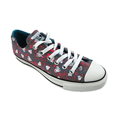 efd11640e4a2 Converse Chuck Taylor Hearts Allover Print Grey Unisex Shoe - Both in Hi  and Lo Top (7 M US