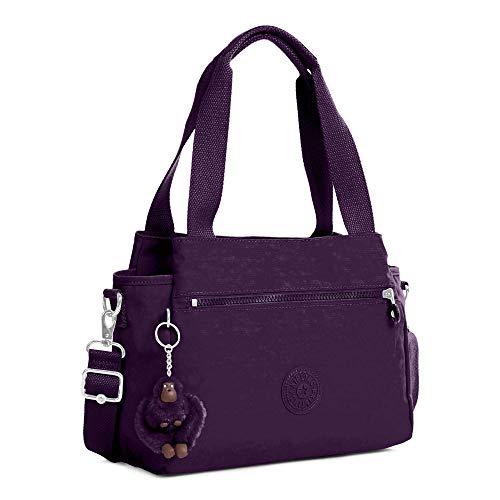Purple Bag Elysia Kipling Crossbody Solid Deep Convertible qFPwcOH1x