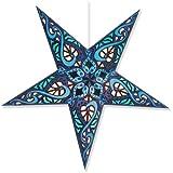 Celtic Blue Star Lantern