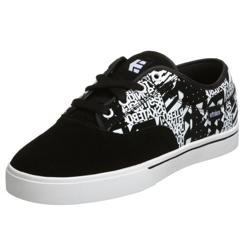 - Etnies Men's Jameson Sneaker,Black/White/Print,5.5 M US