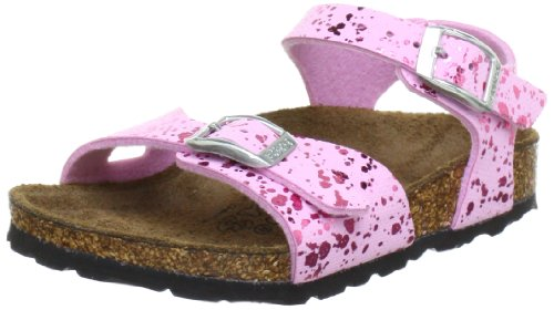 Birkenstock Tuvalu Sandals, Glitter Hologram Pink, 9 M US Little Kid