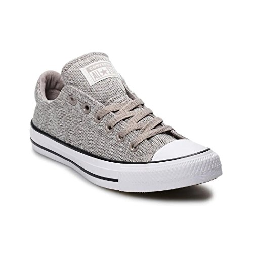 Converse Womens Chuck Taylor All Star Madison-Ox Low-Top Mercury Grey/Mouse Sneaker - 7
