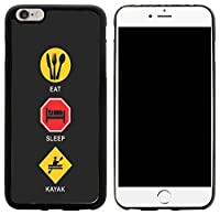 Rikki Knight Hybrid Case Cover for iPhone 6 Plus & 6s Plus - Eat Sleep Kayak Design