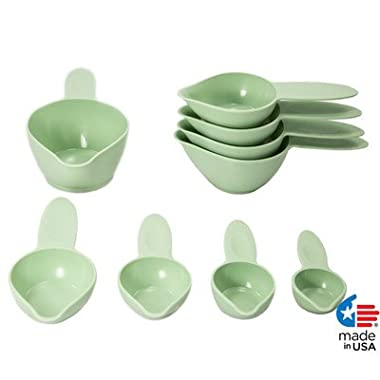POURfect Measuring Cup Set 9pc - Pistachio