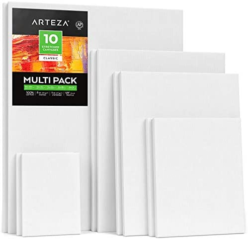 Arteza Stretched Canvas Acrylic Artists product image