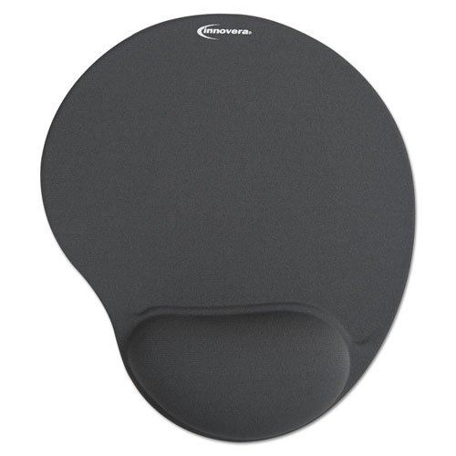 Innovera Mouse Pad with Gel Wrist Pad, Gray (50449) from Innovera
