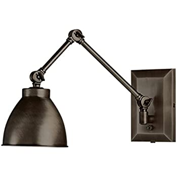 Norwell Lighting 8471-AR-MS Maggie - One Light Swing Arm Wall Sconce  sc 1 st  Amazon.com & Norwell Lighting 8471-PW-MS Maggie - One Light Swing Arm Wall ... azcodes.com