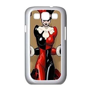 Harley Quinn Samsung Galaxy S3 9300 Cell Phone Case White bnu