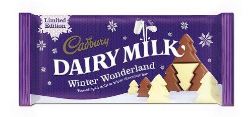 Christmas Tree Chocolates Cadbury - Cadbury Dairy Milk Winter Wonderland