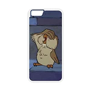 The Sword in the Stone Character Archimedes iPhone 6 4.7 Inch Cell Phone Case White Cyvmk