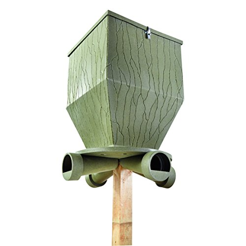 Banks Outdoors Feed Bank Gravity Feeder 300 lb. Capacity by Banks Outdoors