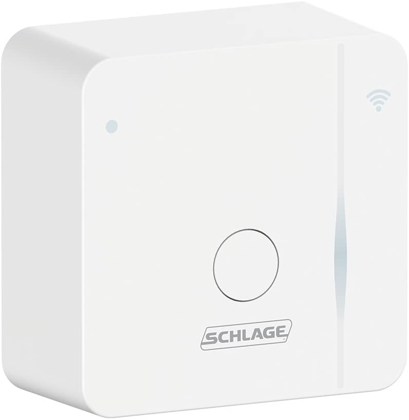 Schlage BR400 Sense Wi-Fi Adapter, White (2.4GHz WiFi only)