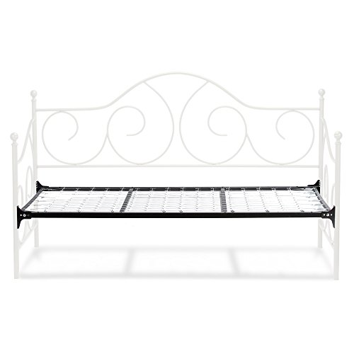 Daybed White Twin Link Spring - 1