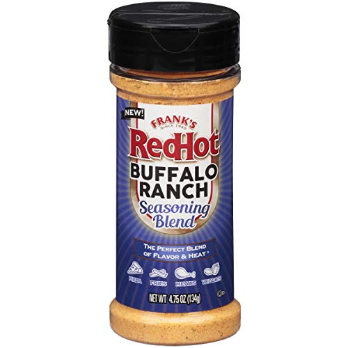 Frank's Redhot Buffalo Ranch Seasoning Blen, (Buffalo Flavor), 4.75 oz