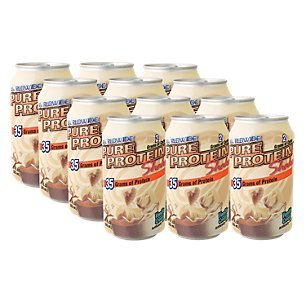 Pure Protein Shakes, Ready to Drink and Convenient for Meal Replacement, Low Carb, Gluten Free, Vanilla Cream, 11 oz, 12 Count from Pure Protein