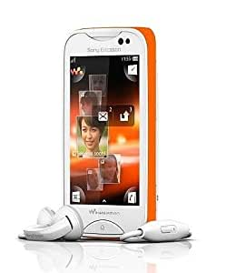 Sony WT13i mix Walkman Unlocked GSM Phone with 3.2 MP Camera - US Warranty - White/Orange