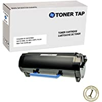 Toner Tap High Capacity Replacement Toner for Dell B2360, B3460, B3465 (8,500 pages), Compatible with Dell Part #s Dell M11XH, 331-9805