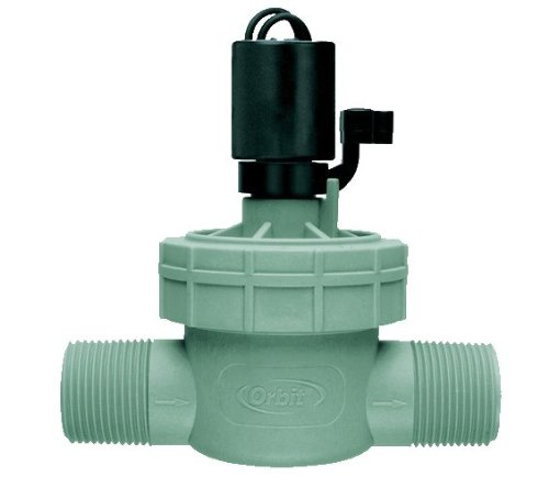 Orbit 2 Pack 1 Inch Male Threaded Jar Top Automatic Sprinkler Irrigation Valve by Orbit