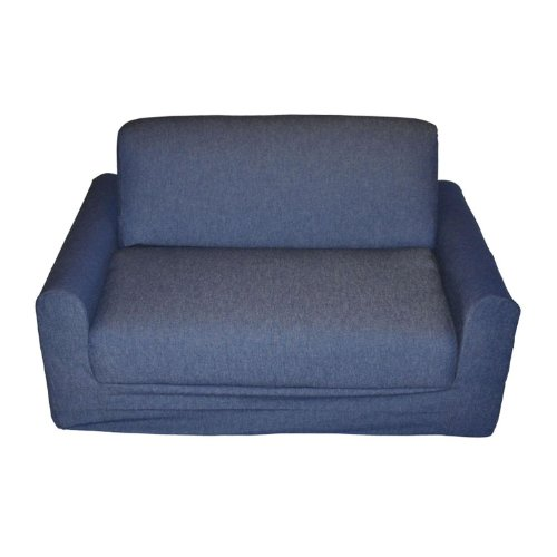 - Fun Furnishings Kid's Sofa Sleeper, Denim