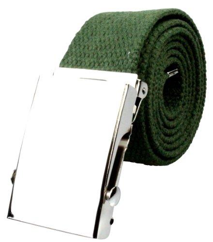 più Alex scuro Designs di in 135 colori taglie cintura Flittner 70 verde strisce tessuto cm a 20 PPwSrqa