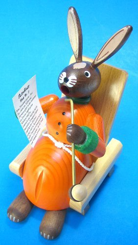 Richard Glaesser Bunny Rabbit Smoker Made in Germany