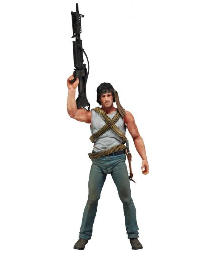 Neca Toys Action Figure - First Blood - JOHN J. RAMBO