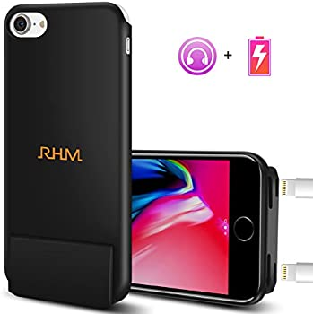 RHM 2 in 1 Audio Charging Anti-Fingerprint Protective Case for iPhone 7/8