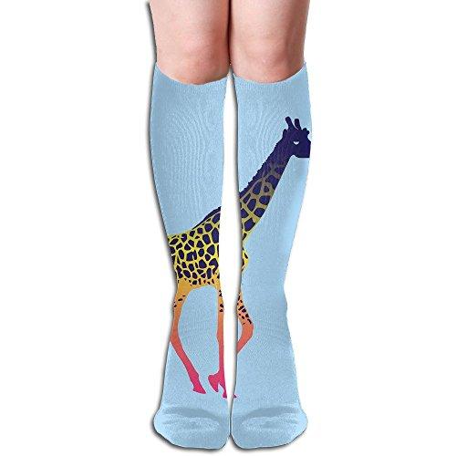 Long Stocking Color Giraffes Women's Over Knee Thigh