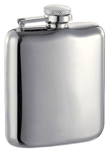 【メーカー再生品】 Visol Providence B01MS65X6Q Stainless Chrome Steel Liquor Flask, Flask, High Polish, 6-Ounce, Chrome by Visol B01MS65X6Q, エナシ:53af1d9a --- a0267596.xsph.ru