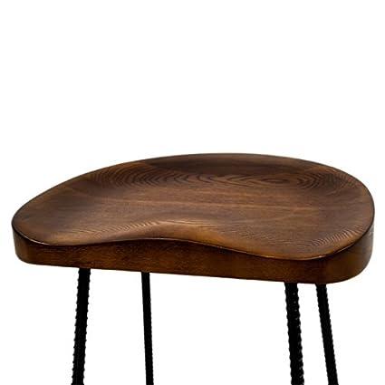 Amazoncom Svitlife Potter Wood 26 Inch High Counter Stool Set Of