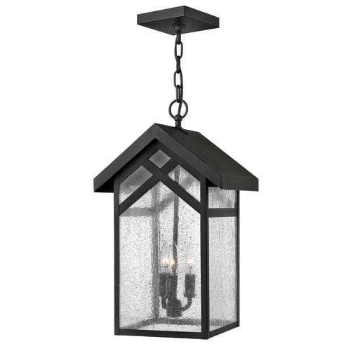 Craftsman Style Hanging Outdoor Light