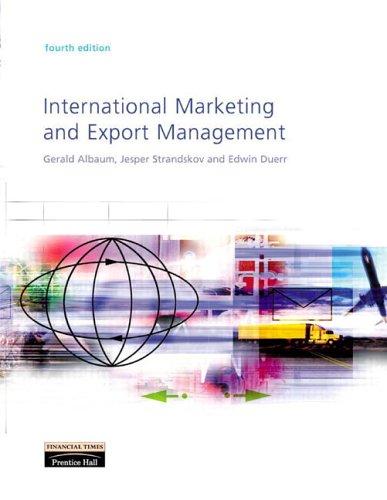 international marketing 4th edition pdf