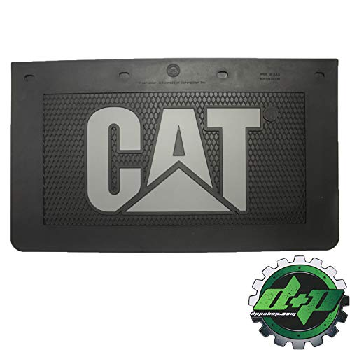 - Diesel Power Plus Cat Mud Flaps Guard 24x14 Rubber Set of 2 mudflaps semi Caterpillar