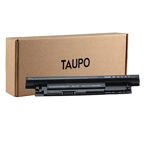 - TAUPO XCMRD New Laptop Battery Compatible with Dell Inspiron 14 3421/ 14r 5421 5437/15 3521 5521 / 15r 5537/17 3721/ 17r 5737 5721/ Latitude 3540, fits P/N MR90Y 9K1VP - 12 Months Warranty