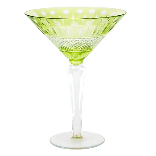 Impulse Glam Martini, Lime, Set of 6 by IMPULSE!