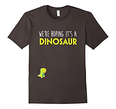 We're Hoping Dinosaur T Shirt, Funny Pregnancy Announcement