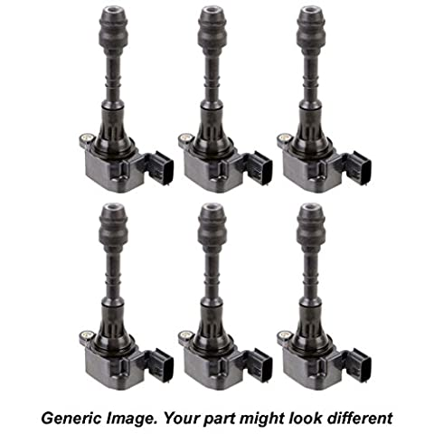 Brand New Premium Quality Complete Ignition Coil Set For Toyota And Lexus - BuyAutoParts 32-70229F6 - 70229 Replacement
