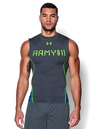 Under Armour Army (Under Armour Men's UA Army Of 11 Sleeveless Compression Shirt Large Wire)