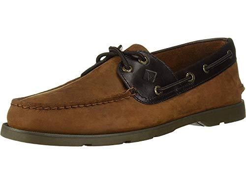 - Sperry Men's Leeward Boat Shoe,Brown Buc/Brown,10.5 Medium US