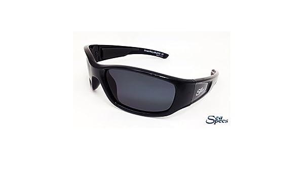 63b882fdb4 Amazon.com  Seaspecs aFloat Grom Floating Sunglasses - Small Faces - Black   Sports   Outdoors
