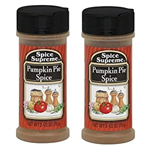 Spice Supreme: Pumpkin Pie Spice, 2.5 oz Size (2 Pack) 41NM4V29R4L