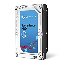 (Old Model) Seagate 2TB Surveillance HDD 5900RPM SATA 6.0GB/s 64MB Hard Drive (ST2000VX003) 2 Ideal for surveillance DVRs and NVRs Capacities up to 8TB support systems with 8+ drives and 64 cameras per drive Precision-tuned for high write surveillance workloads
