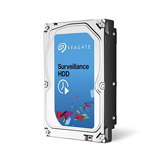 Seagate Surveillance HDD 1TB ST1000VX0001 6-Gb/s Internal Hard Drive 1 Ideal for surveillance DVRs and NVRs Capacities up to 8TB support systems with 8+ drives and 64 cameras per drive Precision-tuned for high write surveillance workloads