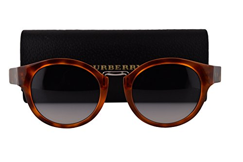 Burberry BE4227 Sunglasses Light Havana w/Blue Gradient Lens 360579 BE 4227 by BURBERRY