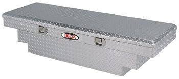 Delta  1-304000 Bright Aluminum Mid Size Single Lid Crossover Truck Box